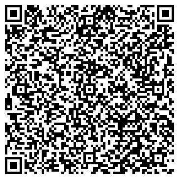 QR-код с контактной информацией организации Студия интерьеров VizHouse, ЧП