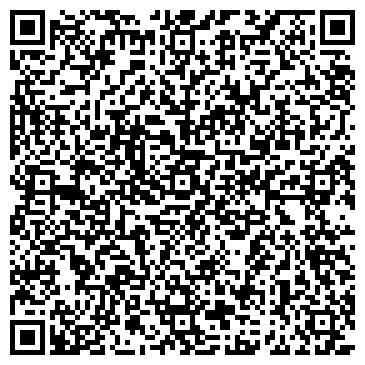 QR-код с контактной информацией организации Дизайн-студия Satin (Сатин)