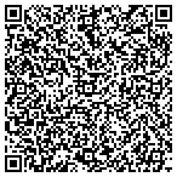 QR-код с контактной информацией организации Дизайн студия Штрих Арт, ИП