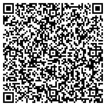 QR-код с контактной информацией организации зеленые салаты