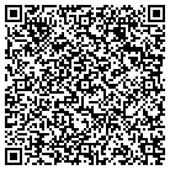 QR-код с контактной информацией организации Хижина, ООО