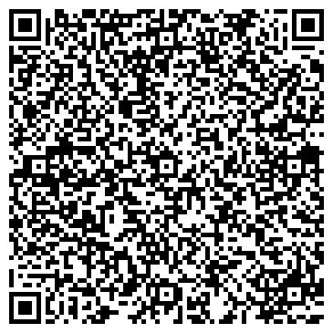 QR-код с контактной информацией организации ОРХИДЕЯ творческий клуб, ТОО