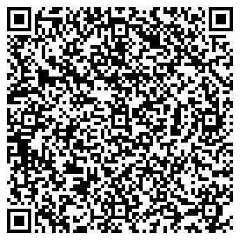 QR-код с контактной информацией организации Путешествия Домино
