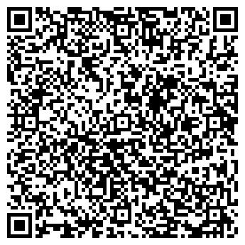 QR-код с контактной информацией организации Ажур (турфирма), ООО