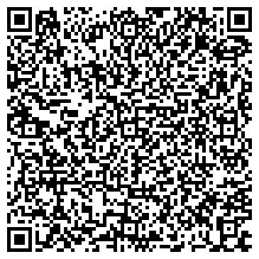 QR-код с контактной информацией организации Парикмахерская Анна