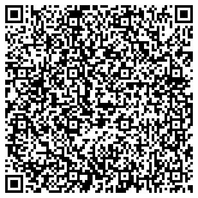 QR-код с контактной информацией организации Международный Центр поддержки творческой молодежи