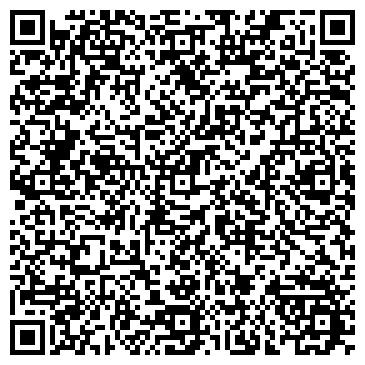 QR-код с контактной информацией организации Гимнастический клуб