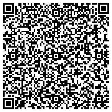 QR-код с контактной информацией организации Школа массажа Евгении Радионовой, ЧП