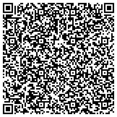 QR-код с контактной информацией организации Студия-школа при салоне красоты Sensation (Решетников), ИП