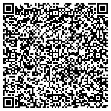 QR-код с контактной информацией организации ABC, лингвистический центр, ТОО