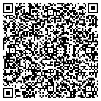 QR-код с контактной информацией организации Клуб «Ин-Яз»