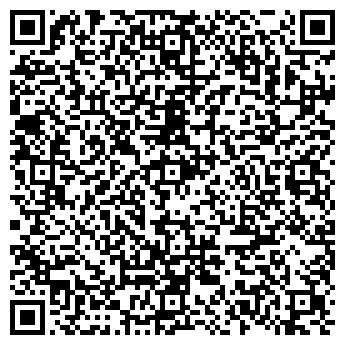 QR-код с контактной информацией организации D'elite School