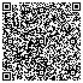 QR-код с контактной информацией организации «Популярный» салон красоты