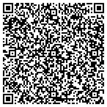 QR-код с контактной информацией организации Аура плюс (салон красоты), ИП