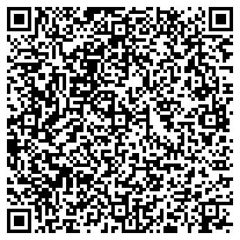 QR-код с контактной информацией организации ХАНЫМ, салон красоты, ИП