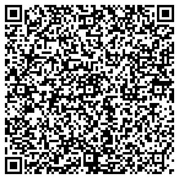 QR-код с контактной информацией организации Блеск, ИП