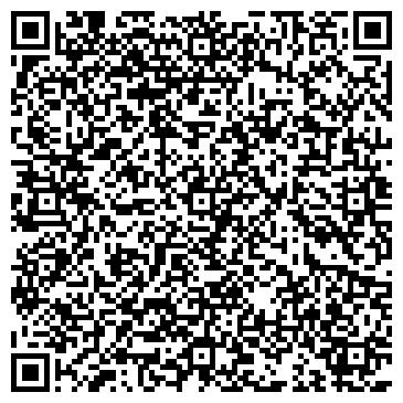 QR-код с контактной информацией организации ЛЬВИЦА, салон красоты, ИП