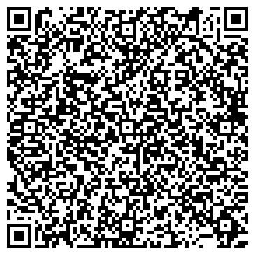 QR-код с контактной информацией организации Естественные Брови (Салон красоты), ИП