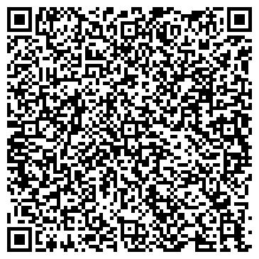 QR-код с контактной информацией организации Студия танца и фитнеса «Милалина»