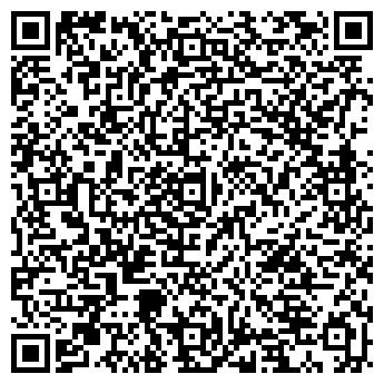 QR-код с контактной информацией организации Школа Чарасвати