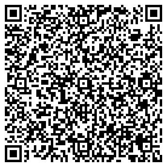 QR-код с контактной информацией организации Баня на дровах, ИП
