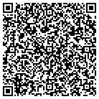 QR-код с контактной информацией организации фитнес клуб ДНК