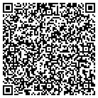 QR-код с контактной информацией организации Тренажерный зал ХХХ, ИП