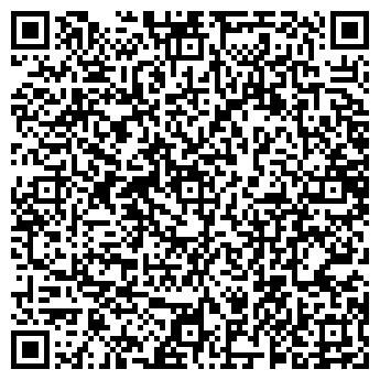 QR-код с контактной информацией организации Сауна, ИП