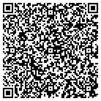 QR-код с контактной информацией организации Фитнес-клуб «Ника»