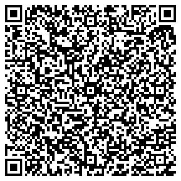 QR-код с контактной информацией организации Салон красоты DeLuxe, ООО