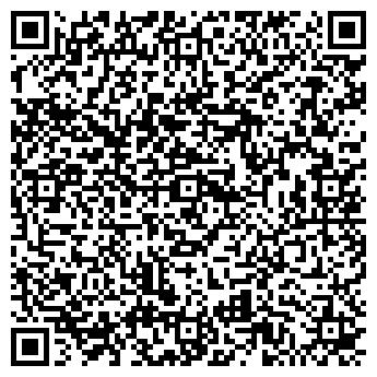 QR-код с контактной информацией организации Полет на шаре, ЧП