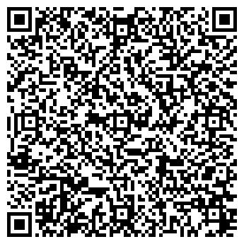 """QR-код с контактной информацией организации Турклуб """"Меркурий"""""""