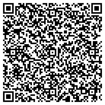 QR-код с контактной информацией организации Автомагазин, ИП