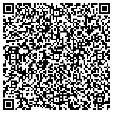 QR-код с контактной информацией организации Салон красоты «Красный мак»