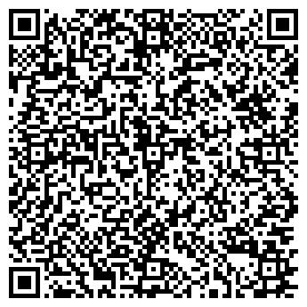 QR-код с контактной информацией организации Салон красоты  Contrast