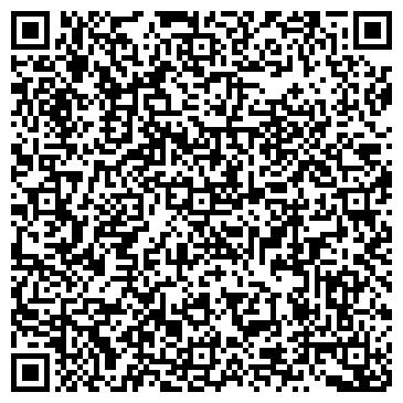QR-код с контактной информацией организации ОКНА, ЖАЛЮЗИ, ДВЕРИ
