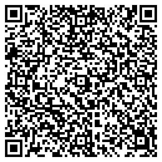 QR-код с контактной информацией организации BLACK & WHITE