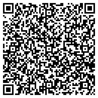 QR-код с контактной информацией организации СРЕДНЯЯ ШКОЛА
