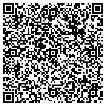 QR-код с контактной информацией организации ВОРОБУШЕК, ДЕТСКИЙ САД № 68