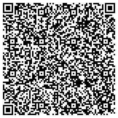 QR-код с контактной информацией организации Отдел по взаимодействию и организации безопасности лечебных учреждений