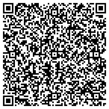 QR-код с контактной информацией организации УКРАИНСКИЕ ПУХОВЫЕ ИЗДЕЛИЯ, ОАО