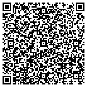 QR-код с контактной информацией организации Парикмахерская № 12