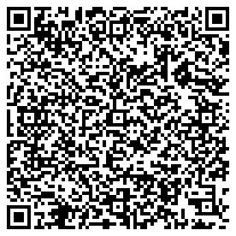 QR-код с контактной информацией организации ШКОЛА ПОС. ЧЕРУСТИ