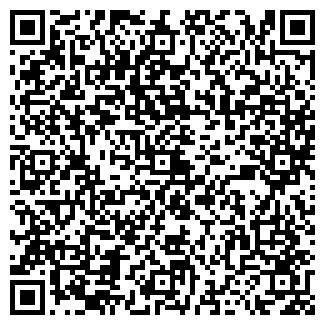 QR-код с контактной информацией организации АВТО УДАЧА