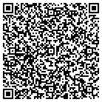 QR-код с контактной информацией организации «Ткани. Швейные машины»