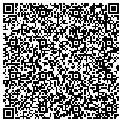 QR-код с контактной информацией организации ДЕРЕВООБРАБАТЫВАЮЩИЙ КОМБИНАТ СТРОИТЕЛЬНО-МОНТАЖНОГО ТРЕСТА № 14-ФИЛИАЛА ОАО РЖД