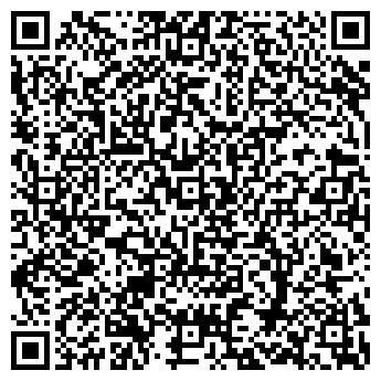 QR-код с контактной информацией организации PEOPLES BAR & GRILL