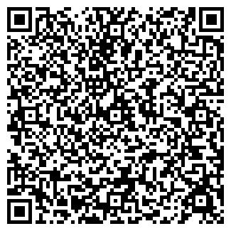 QR-код с контактной информацией организации ТРАНСФИН