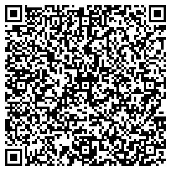 QR-код с контактной информацией организации МОДНЫЕ ТКАНИ