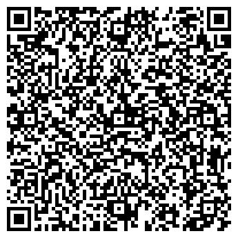 QR-код с контактной информацией организации СУПЕРМАРКЕТ СПУТНИК